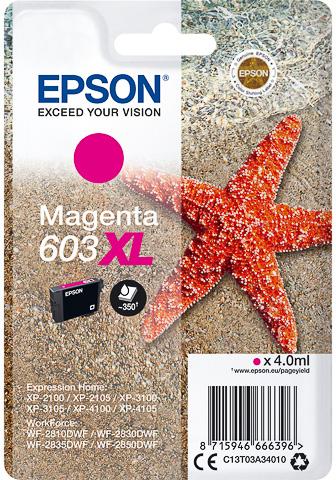 Epson 603XL inktcartridge magenta