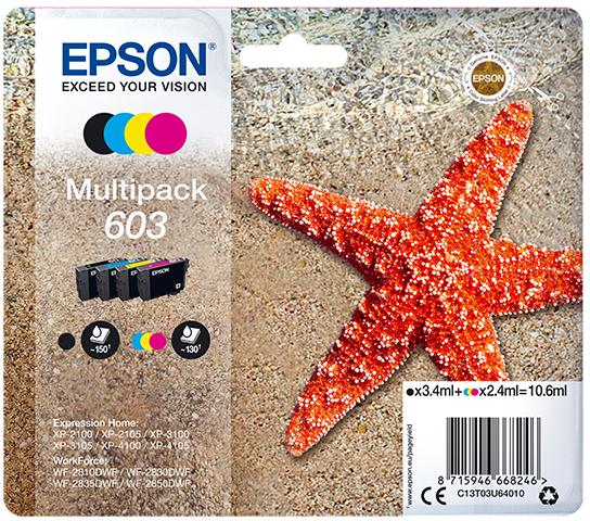Epson 603 Multipack zwart en kleur