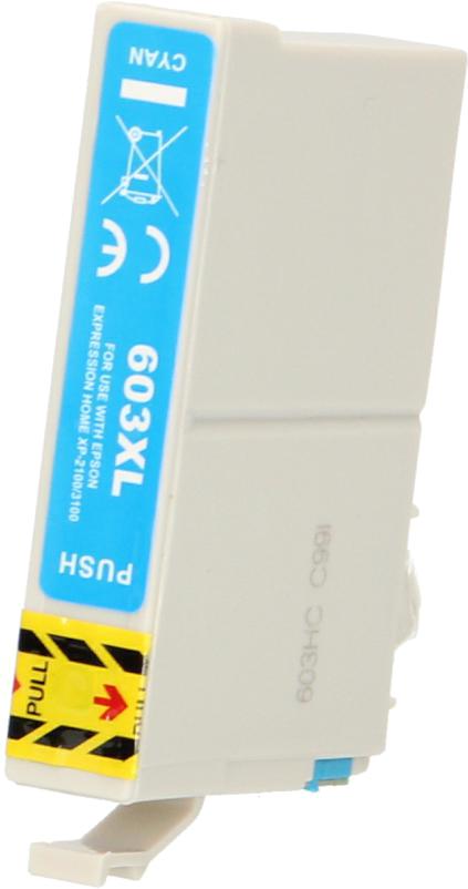 Huismerk Epson 603XL cyaan