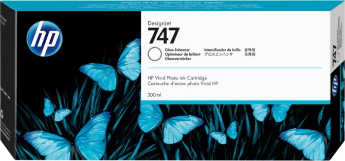 HP 747 inktcartridge glansafwerking