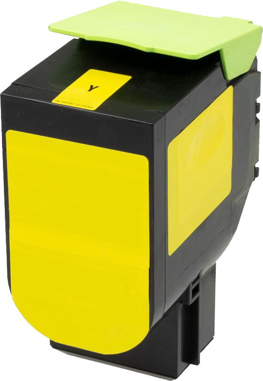 Huismerk Lexmark 71B20Y0 geel