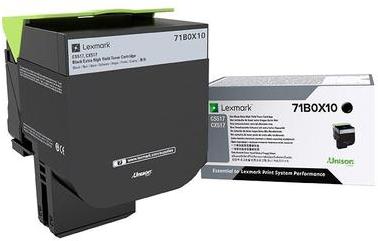 Lexmark 71B0X10 zwart