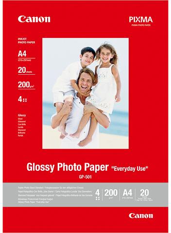 Canon GP-501 A4 Fotopapier 20 stuks wit
