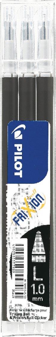 Pilot balpenvulling FriXion Ball /Clicker zwart