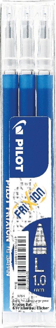 Pilot balpenvulling FriXion Ball /Clicker blauw