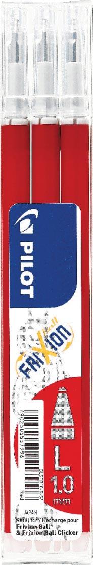 Pilot balpenvulling FriXion Ball /Clicker rood