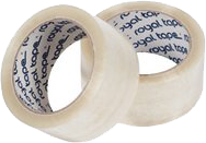 ROYAL TACK PP verpakkingsplakband 48mm x 66m transparant
