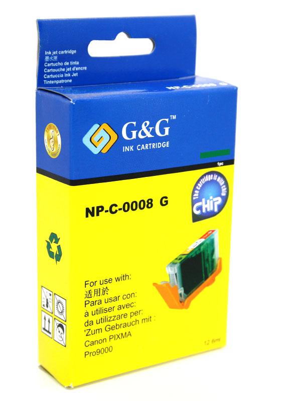 Huismerk Canon CLI-8G groen