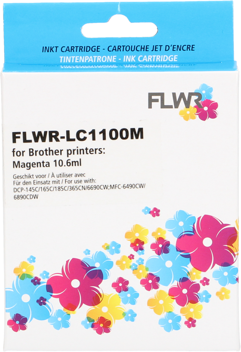 FLWR Brother LC-980M magenta