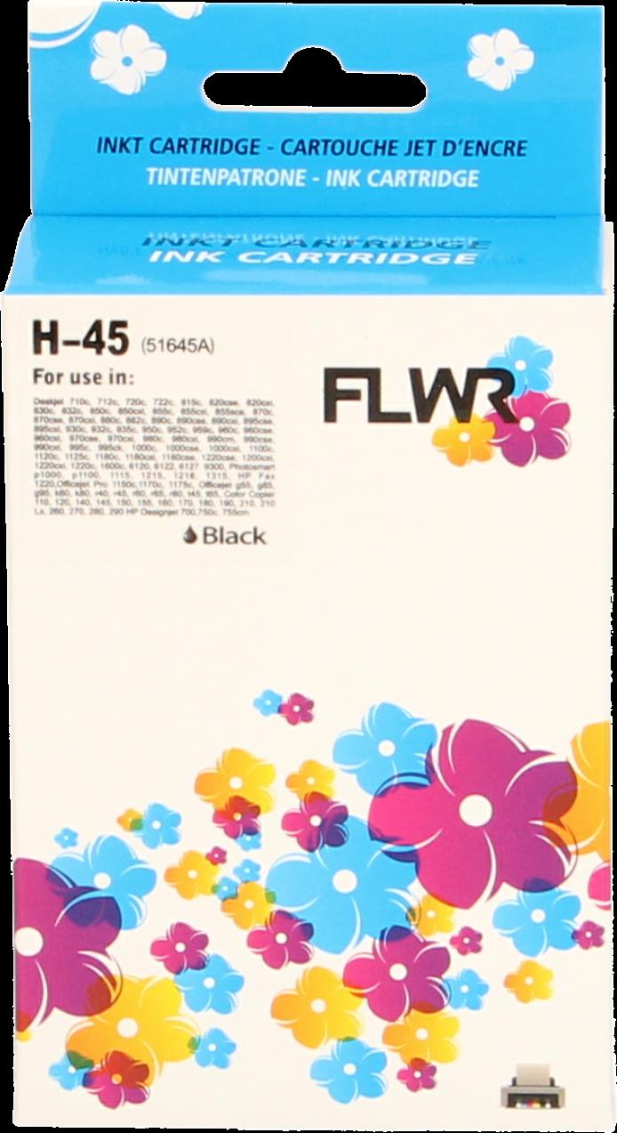 FLWR HP 45 zwart