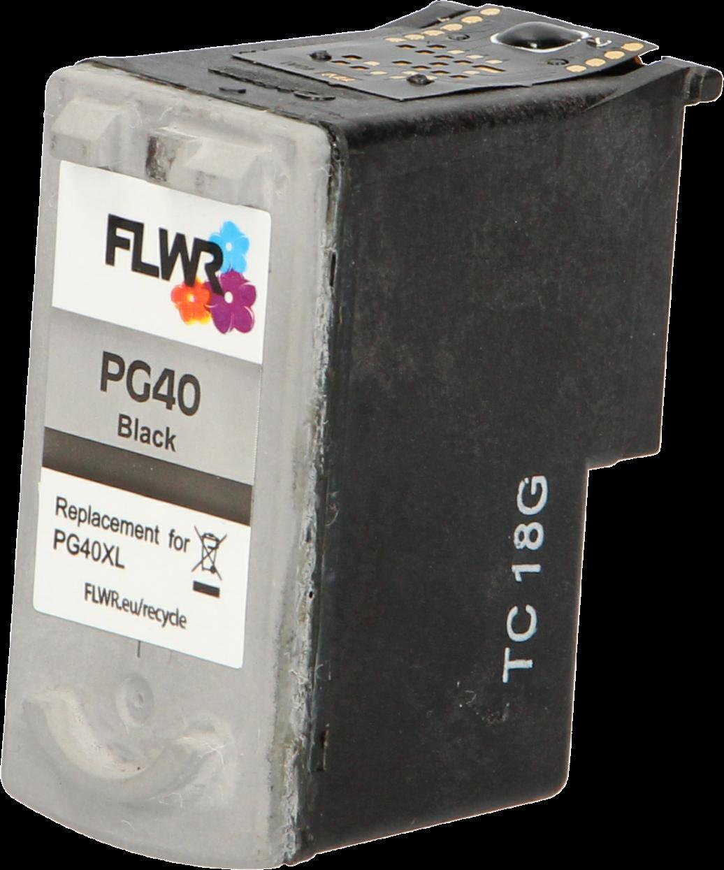 FLWR Canon PG-40 zwart
