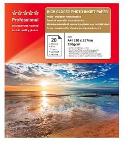 Agfa A4 High Glossy Photo Inkjet Papier 260 grams