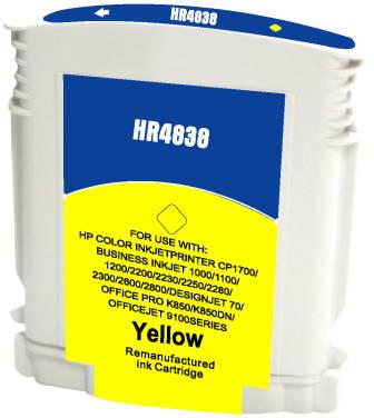 Huismerk HP 11 geel