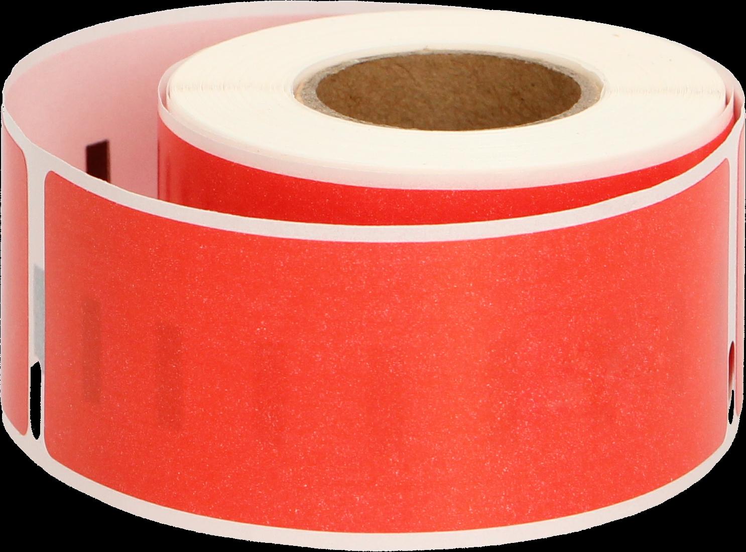 Huismerk Dymo 99010 130 labels per rol rood
