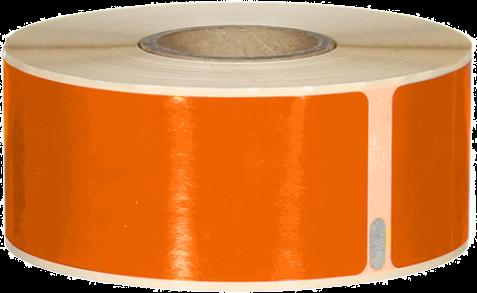 Huismerk Dymo 99010 130 labels per rol oranje