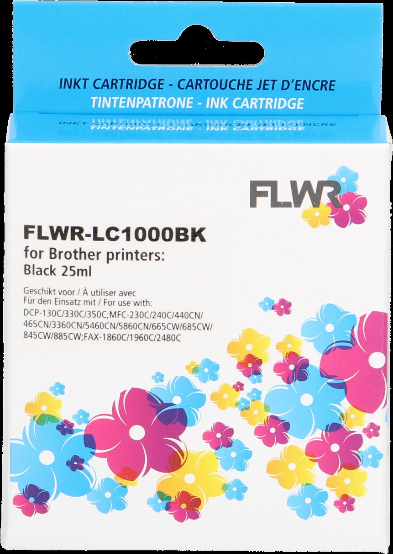 FLWR Brother LC-970BK / LC-1000BK zwart