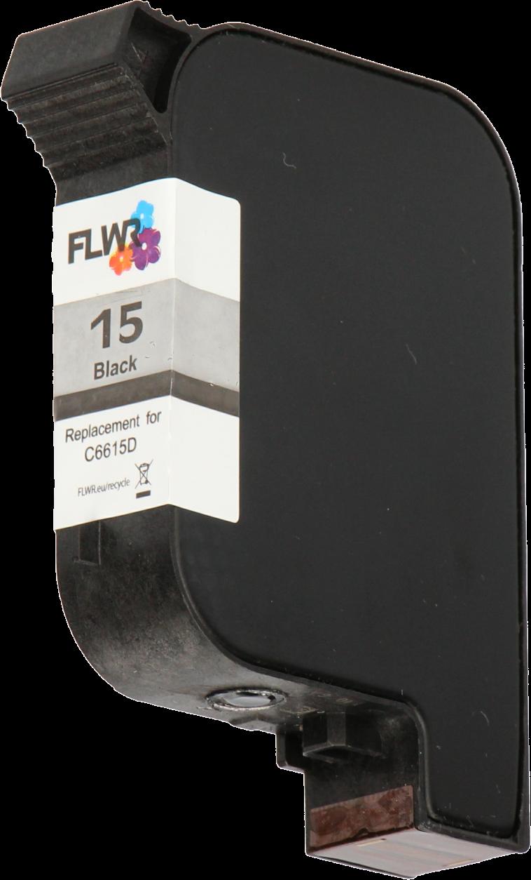 FLWR HP 15 zwart