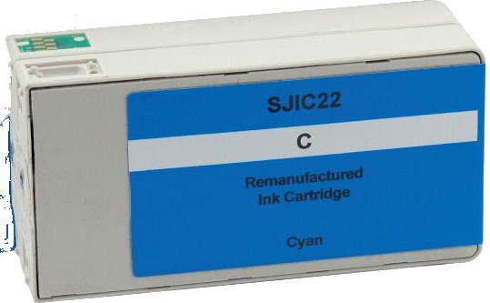 Huismerk Epson SJIC22PC cyaan