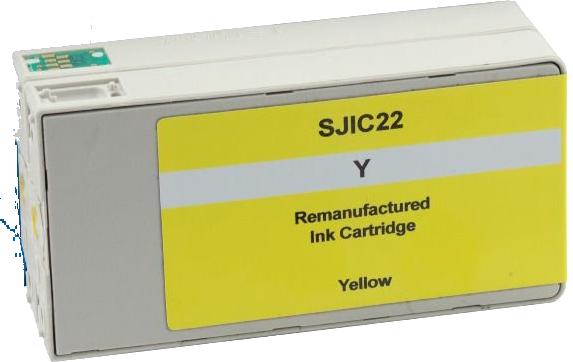 Huismerk Epson SJIC22PY geel
