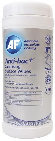 AF Anti-bacteriële doekjes dispenser (50)