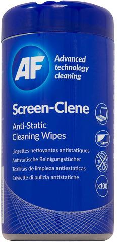 AF Screen-Clean dispenser 100 doekjes