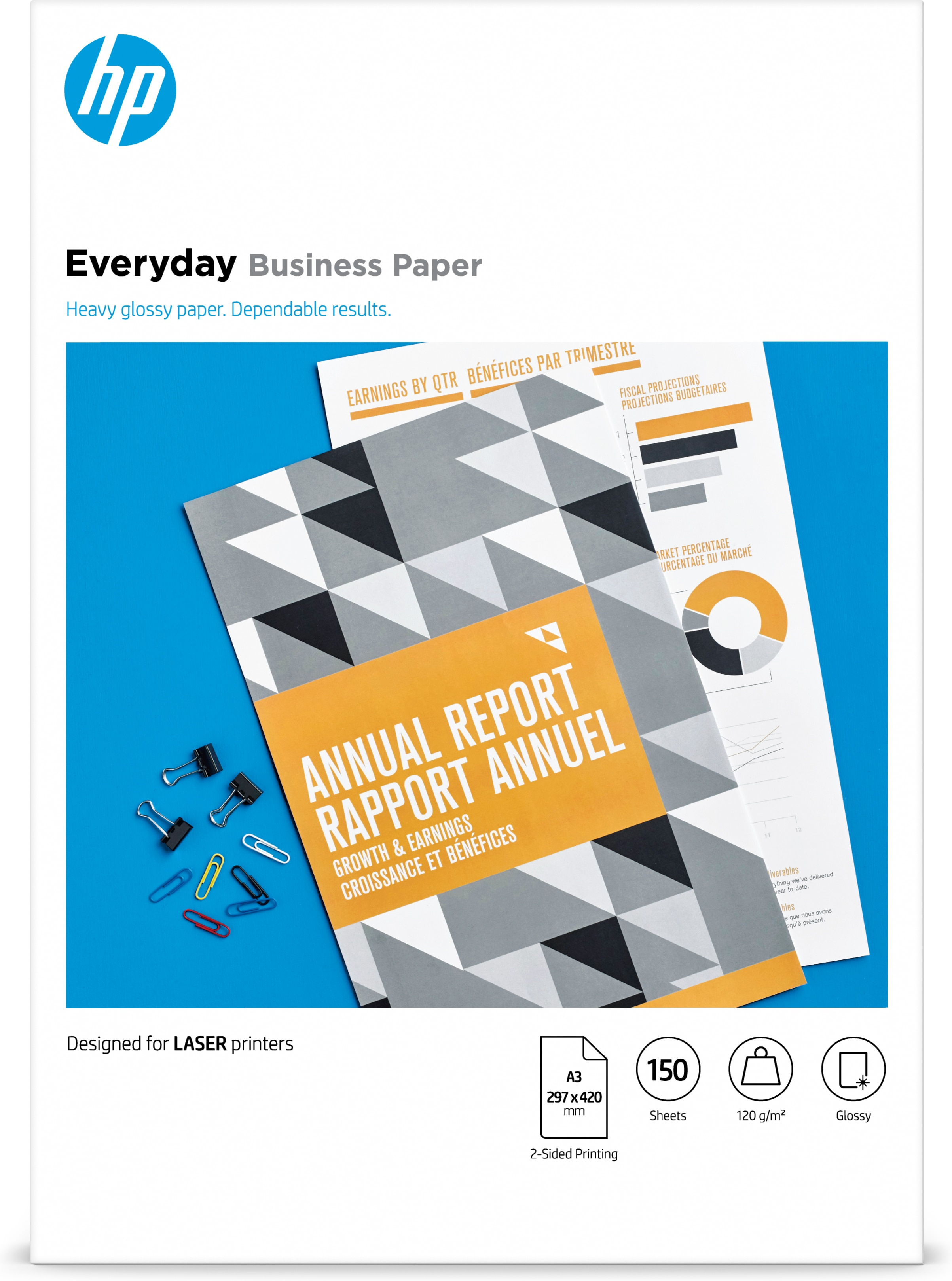 HP Everyday Glossy Business paper A3