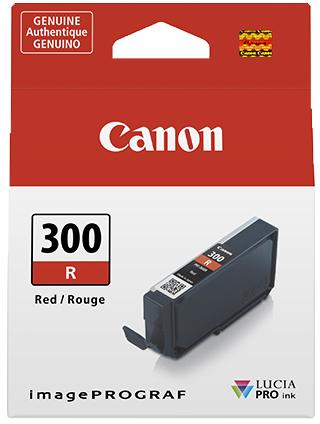 Canon PFI-300R rood