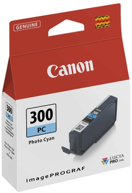 Canon PFI-300PC foto cyaan