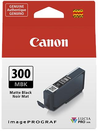 Canon PFI-300MBK mat zwart