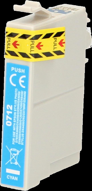 FLWR Epson T0712 cyaan