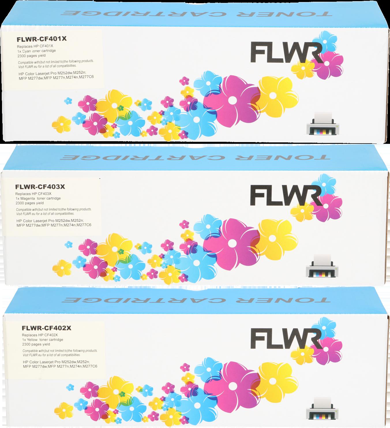 FLWR HP 201X Multipack kleur