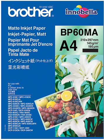 Brother BP60MA Mat inktjet papier A4
