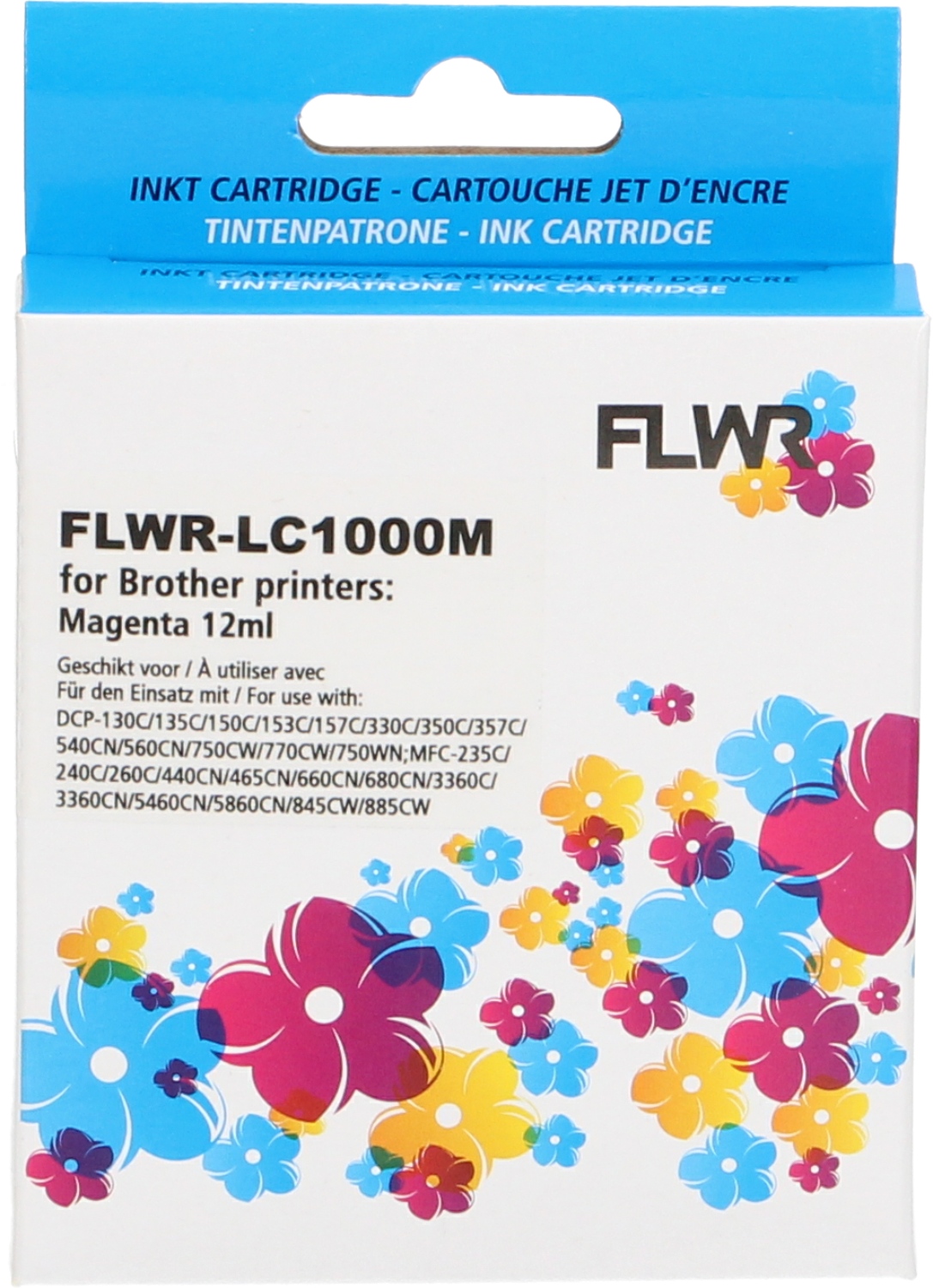 FLWR Brother LC-970M / LC-1000M magenta