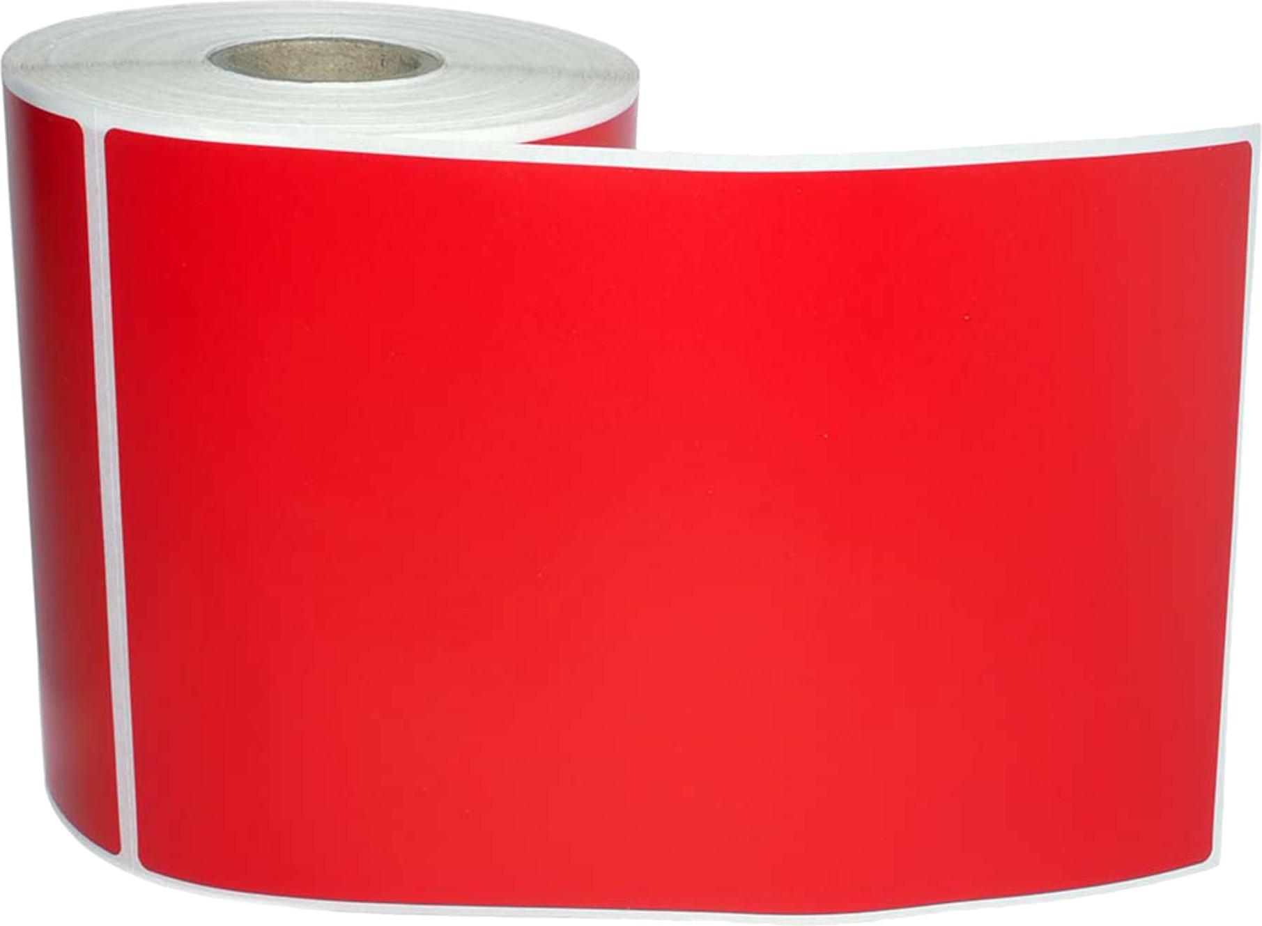Huismerk Zebra verzendetiketten 102x150 rood