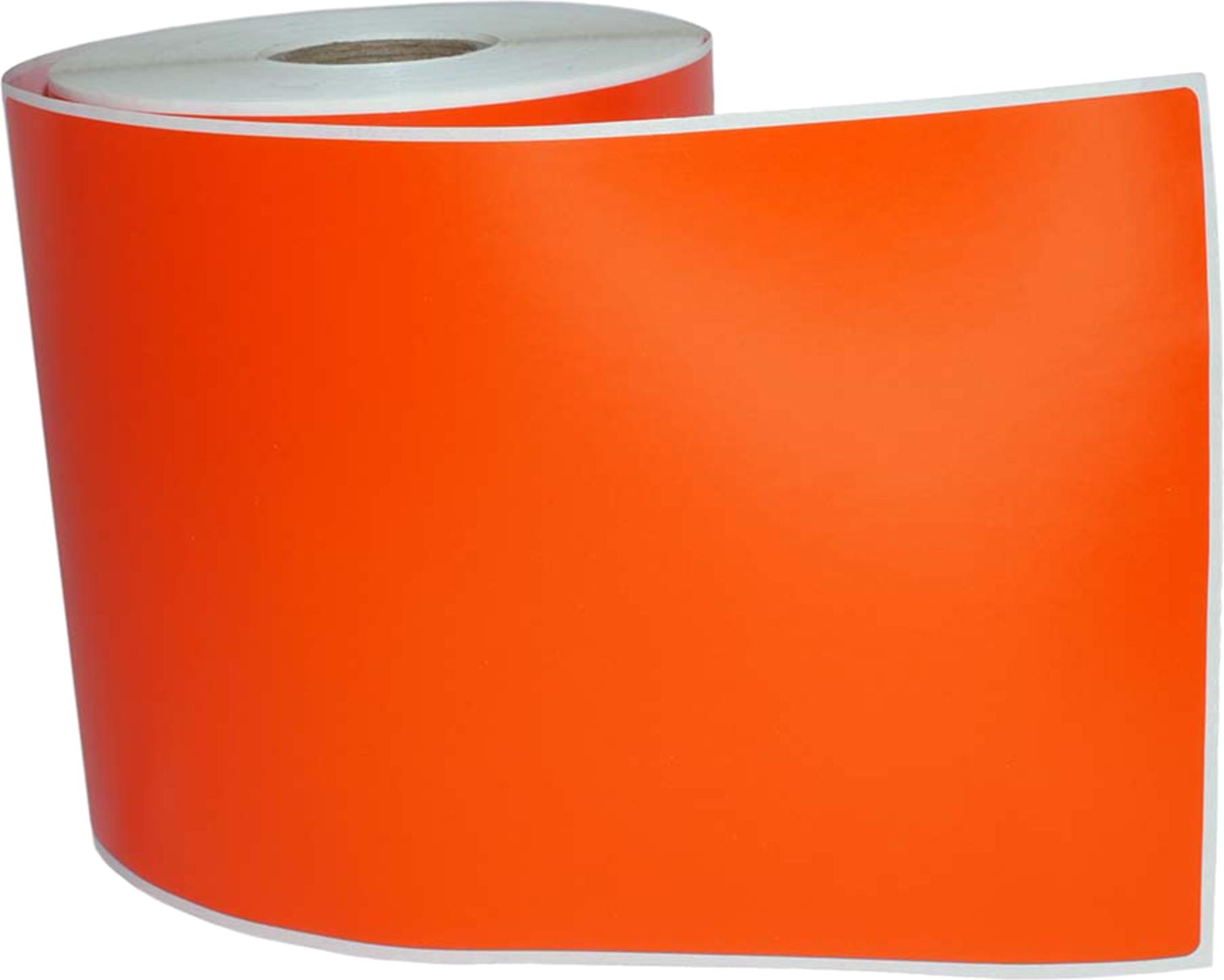 Huismerk Zebra verzendetiketten 102x150 oranje