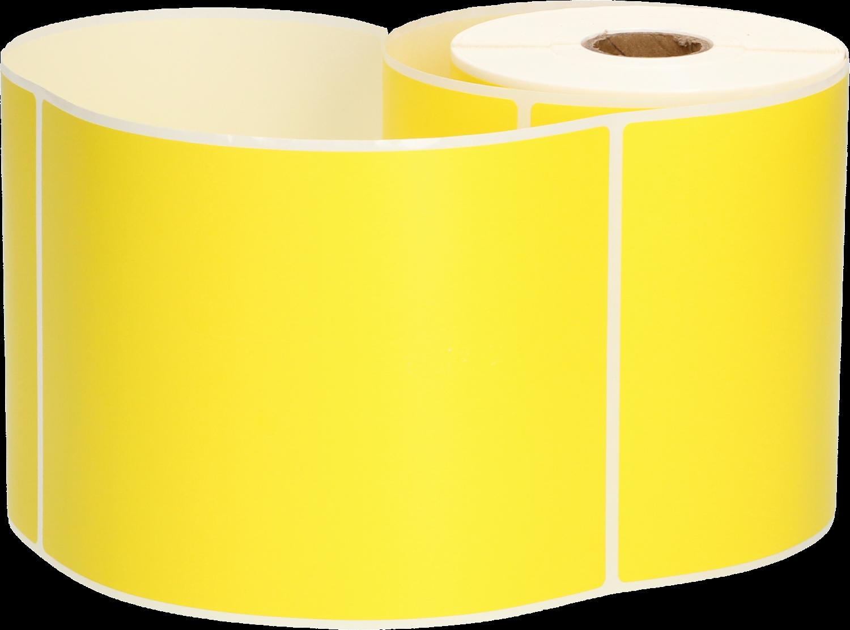 Huismerk Zebra verzendetiketten 102x150 geel