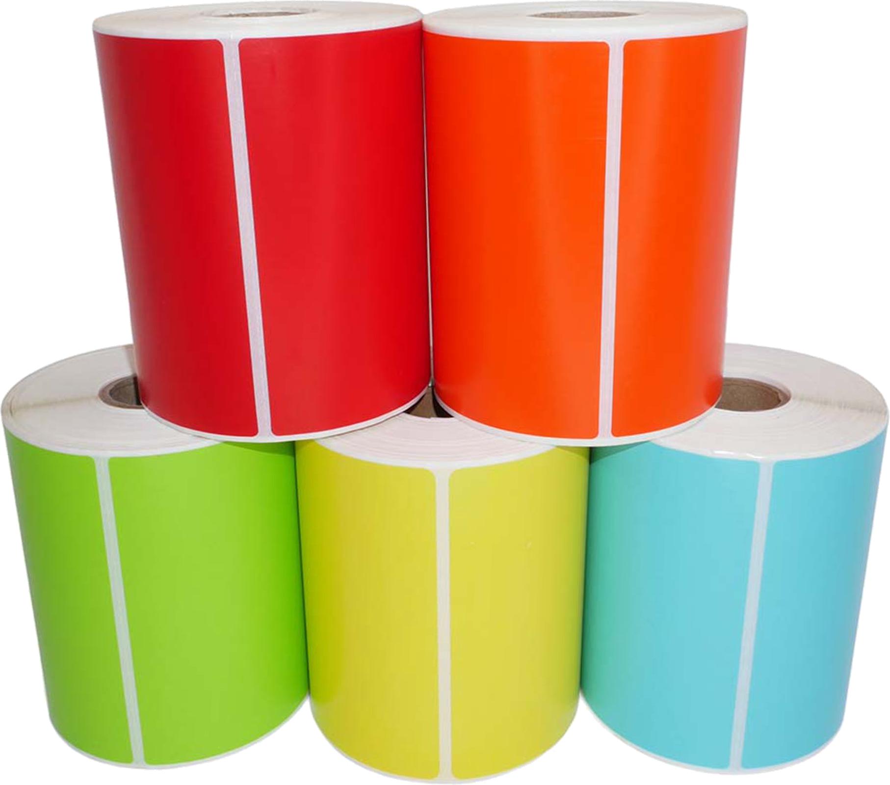 Huismerk Zebra verzendetiketten 102x150 kleurpakket