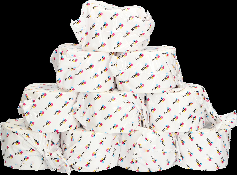 Huismerk Zebra thermische etiketten 70 x 50 10-Pack wit