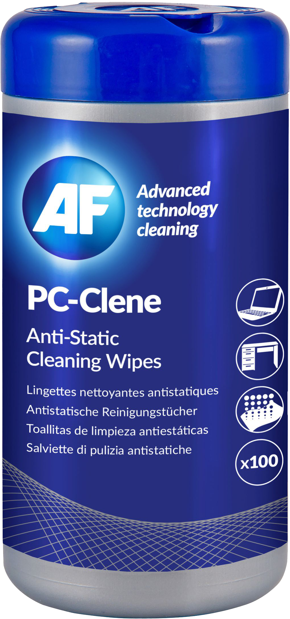 AF Anti-statische schoonmaakdoekjes dispenser