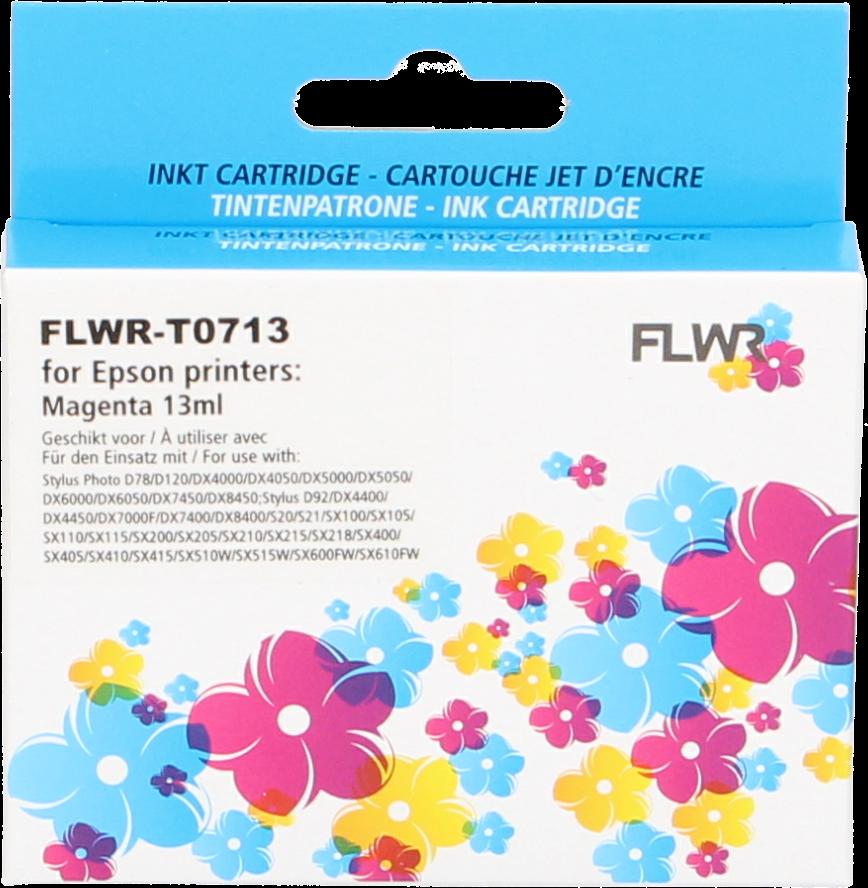 FLWR Epson T0713 magenta