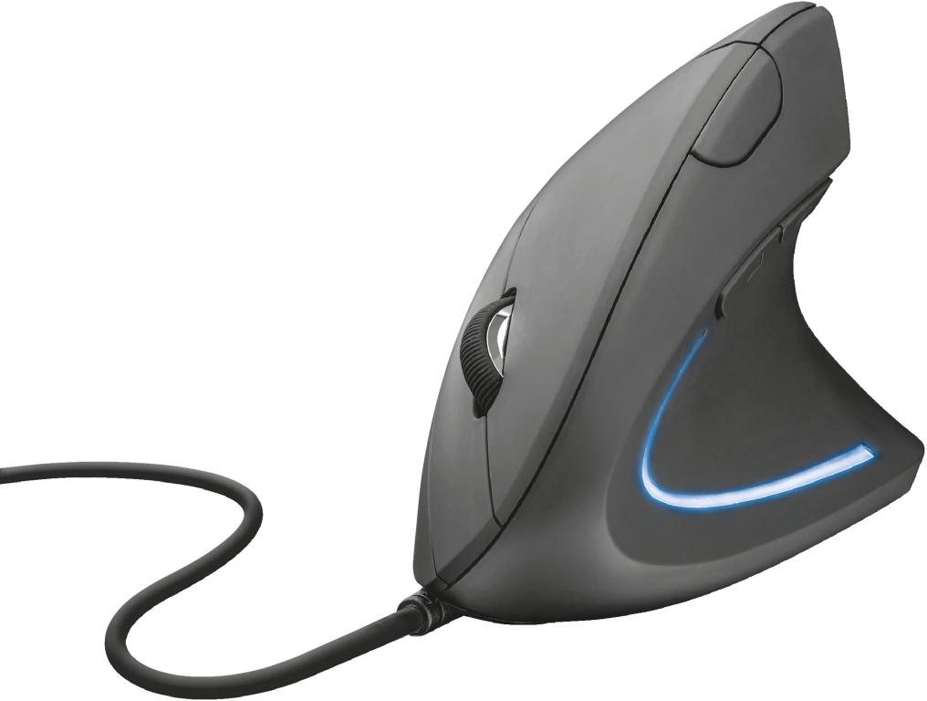 Trust Verto muis met kabel