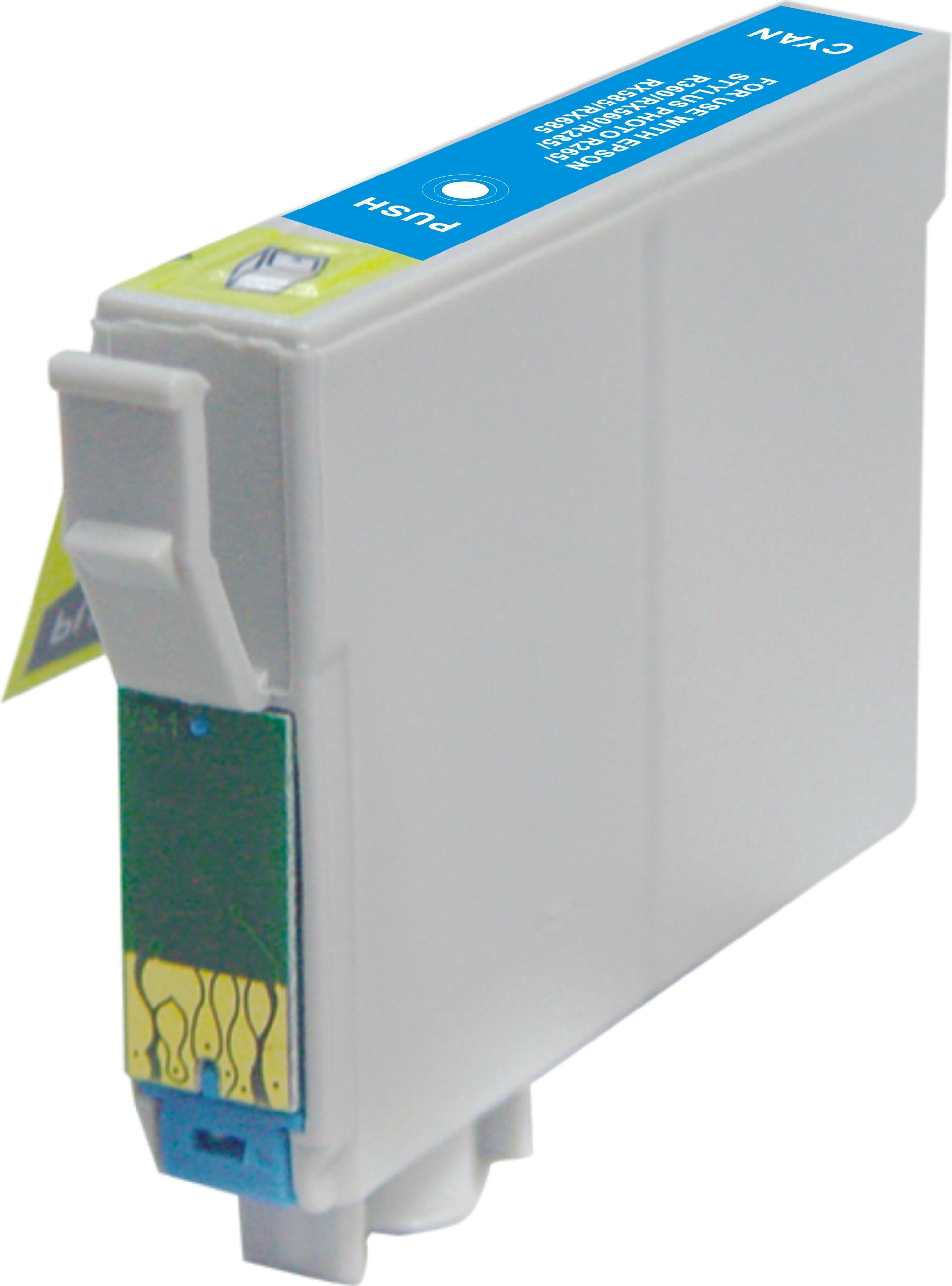 Epson T0802 cyaan