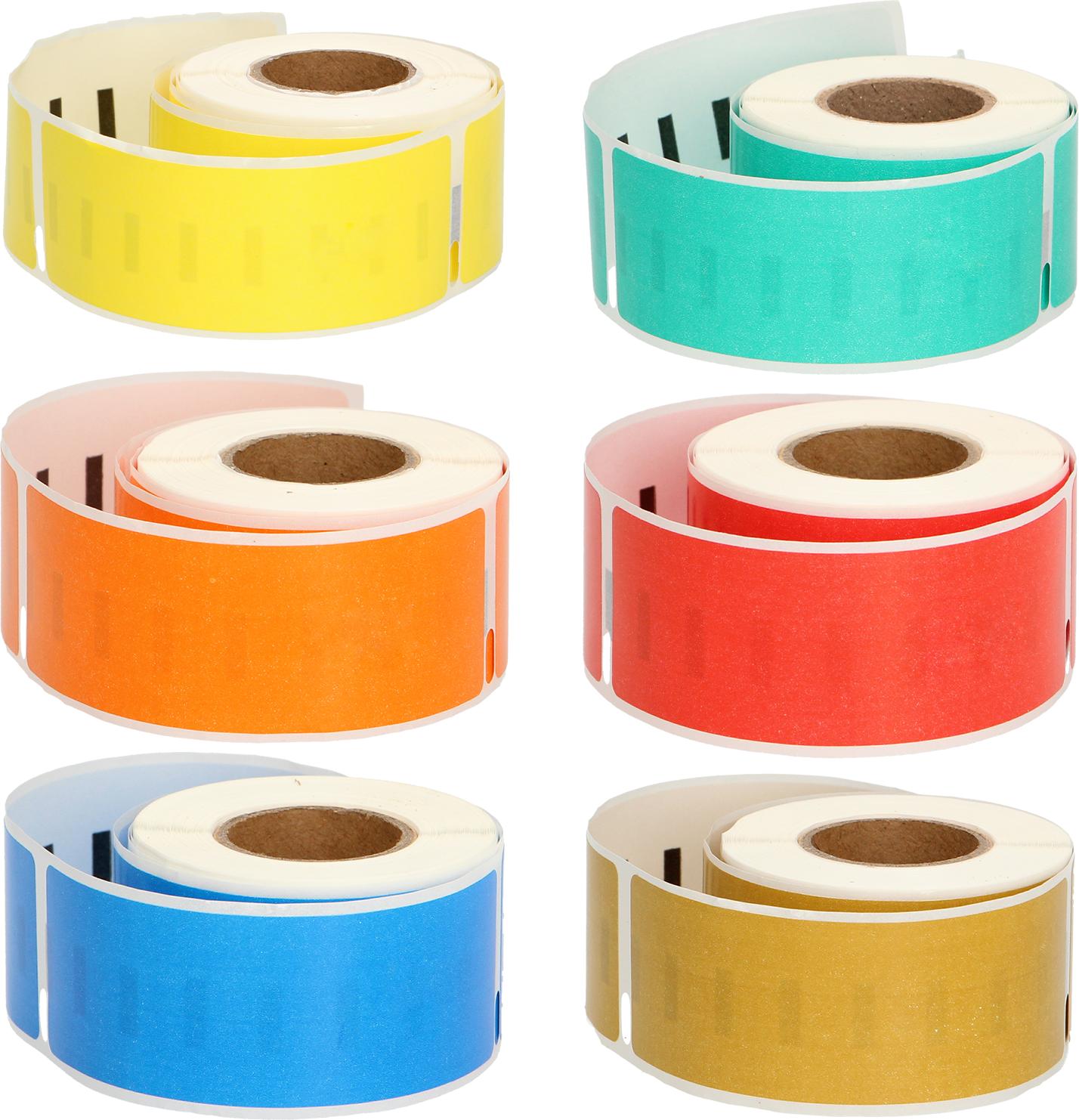 Huismerk Dymo 99010 130 labels per rol kleur