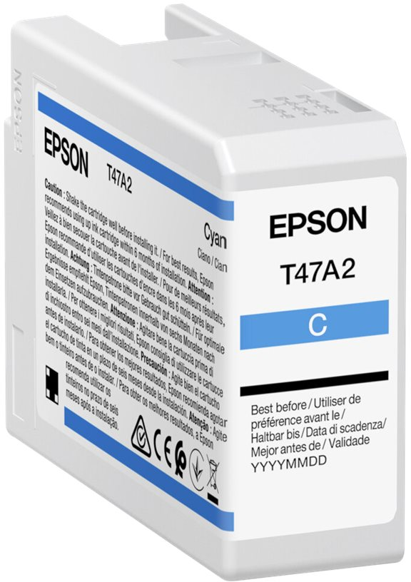 Epson T47A2 UltraChrome Pro 10 cyaan