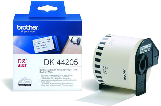 Brother DK-44205 wit