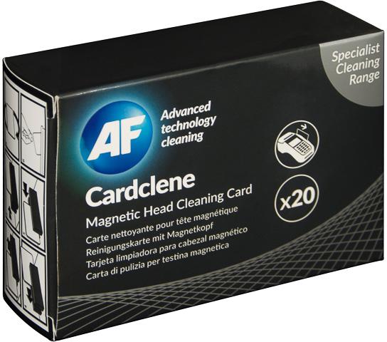 AF Cleaning Cards voor magnetische koppen