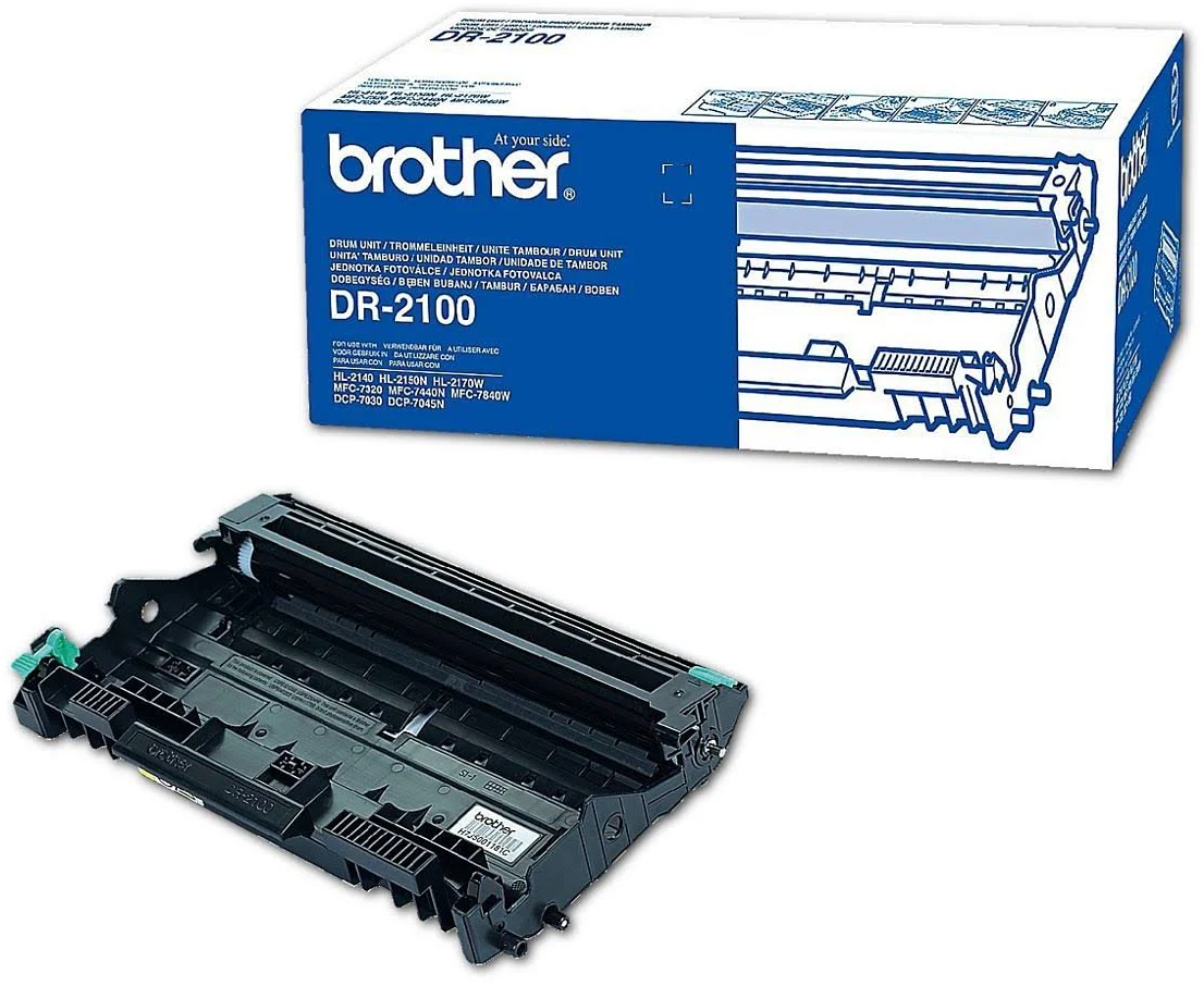 Brother DR-2100 drum zwart