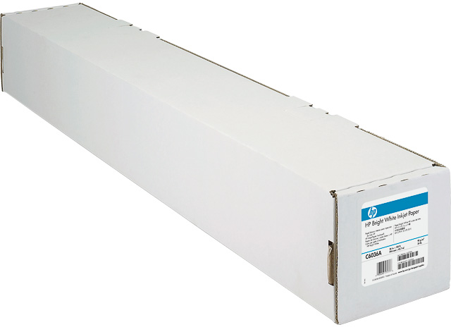HP Inkjet papier Bright White 420mm x 45.7m