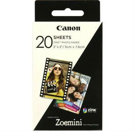Canon Zoemini Fotopapier 2x3 inch