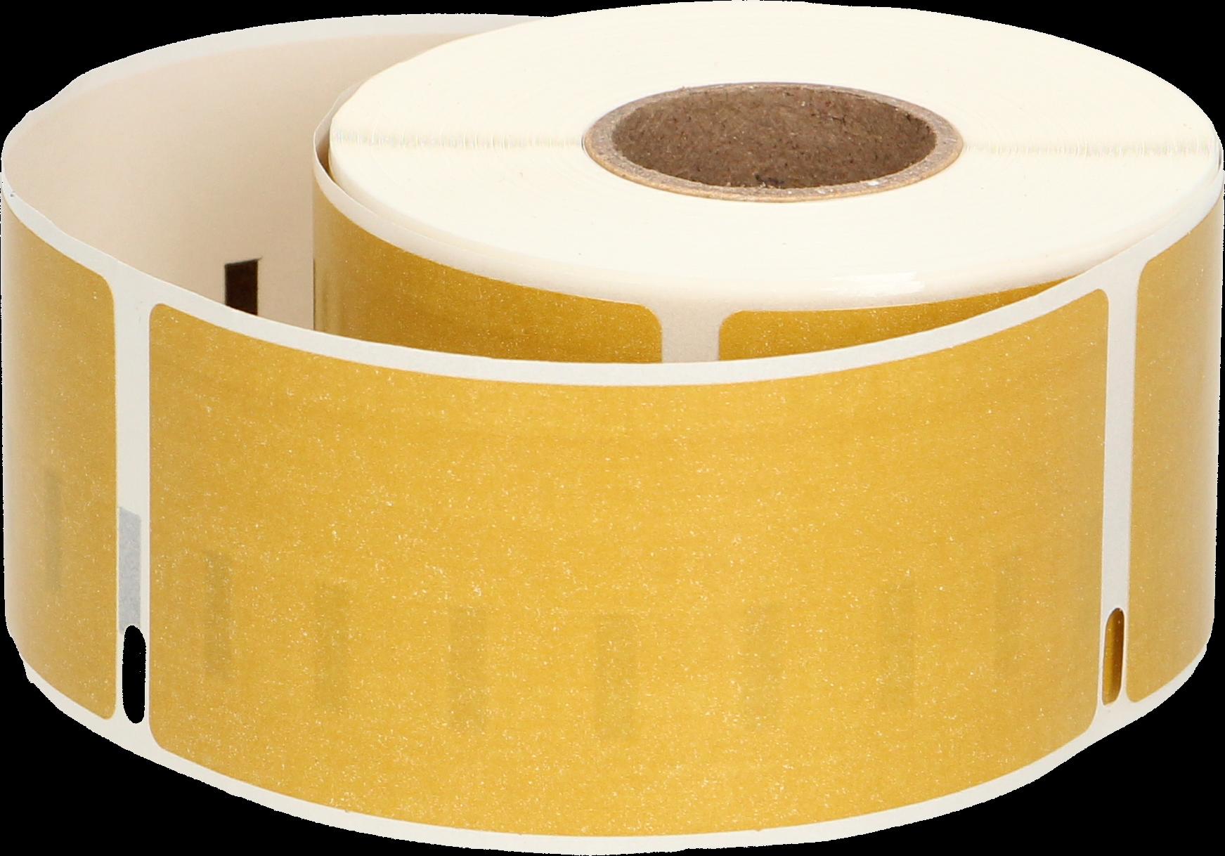 Huismerk Dymo 99012 adreslabel breed goud